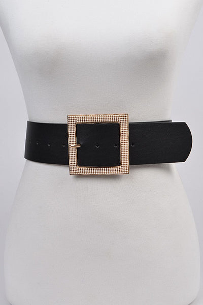 Lady in Pearls Square Belt
