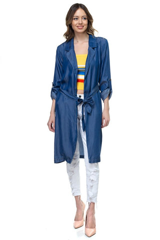 Drenched in Trench Tencel Jacket