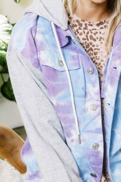 A Hoodie Made in Tie Dye Heaven Jacket