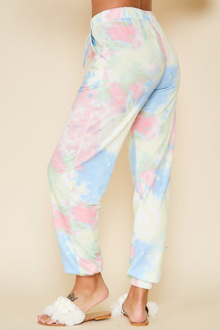 Jog in Those Tie Dye Jogger Sweatpants