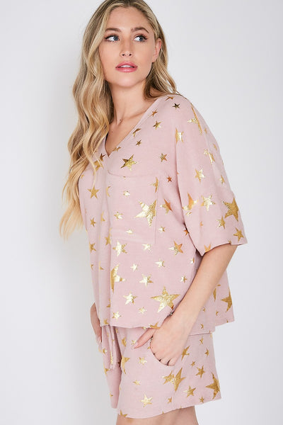 Stars Galore Knit Top