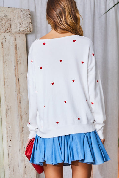 All Hearts Sweater