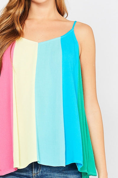 Skittles Sleeveless Top