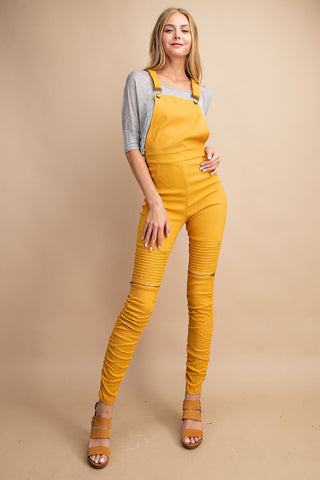 Stretch Overall Jumpsuit