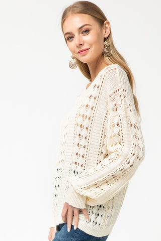 Not My Granny Knit Sweater