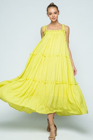 Lemons to Lemonade Maxi Dress