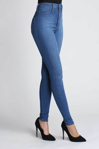 High Waist Stretch Skinny Denim