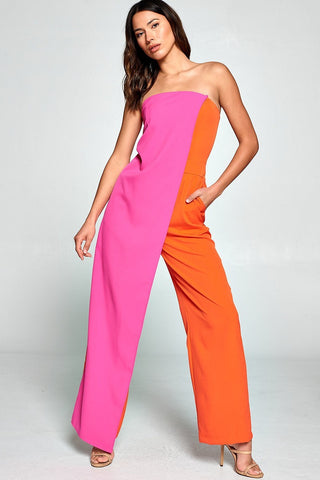 Can't Hold a Colorful Woman Down Jumpsuit
