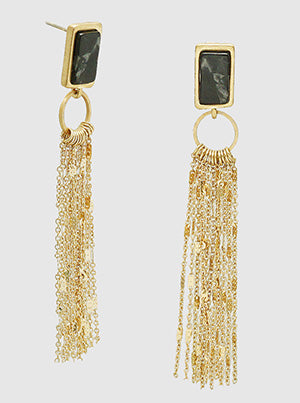 Chain Reaction Dangle Earrings