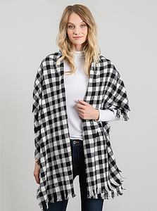 Checkered Wrap It Up Scarf