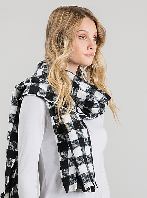 Check Mate Blanket Scarf