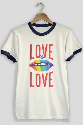 Love is Love Positive Feels Only Tee