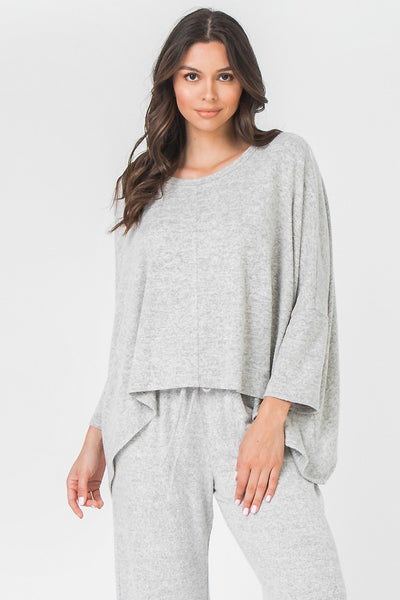 Soft Knit 3/4 Sleeve Top