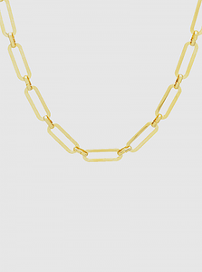 Get Linked Gold Necklace
