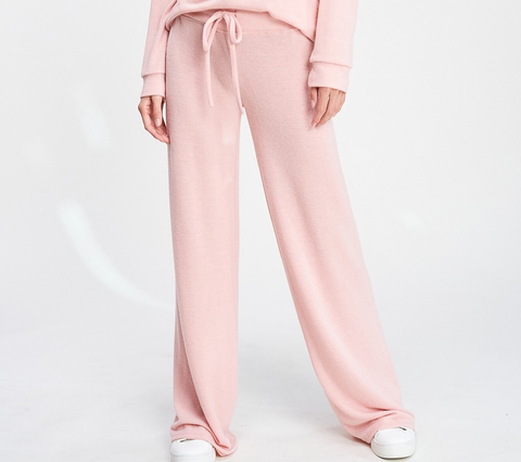 Soft Pink Lounge Sweatpants