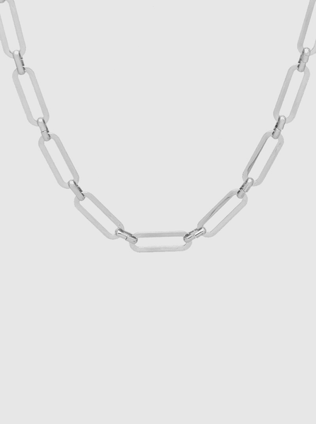 Get Linked Silver Necklace