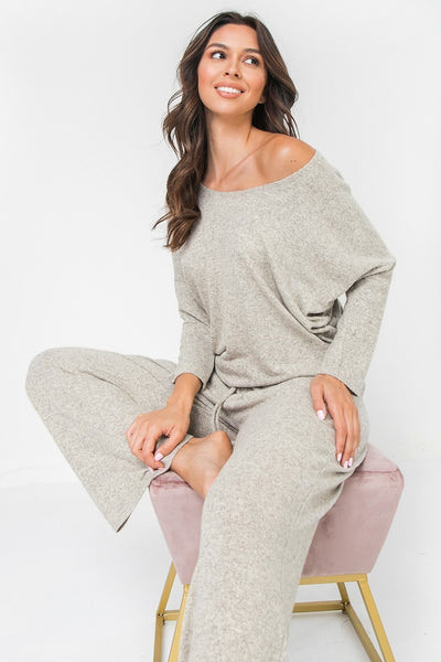 Super Soft Knit 3/4 Sleeve Top