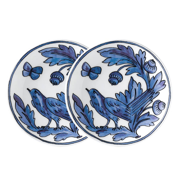 Blue Bird Set of Two Salad Plates