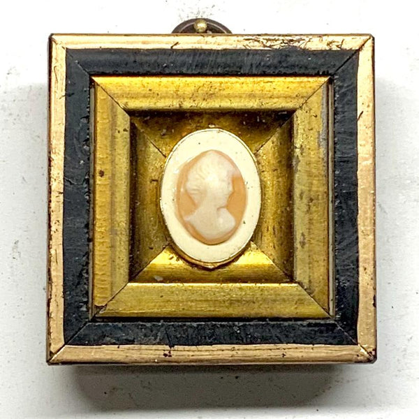 Gilt Frame with Cameo