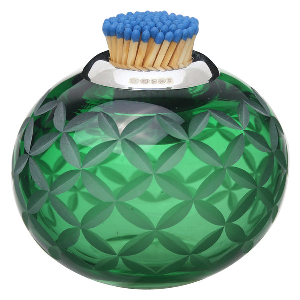 Lucy Cope Matchstriker Pumpkin Lattice Irish Green