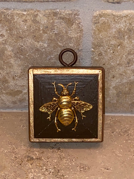 Painted Square with Grande Bee