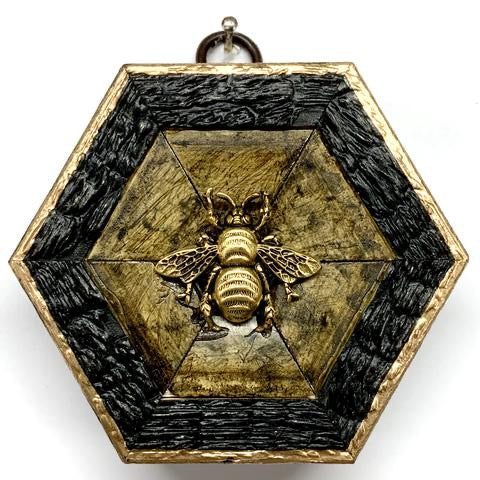 Wooden Frame with Grande Bee