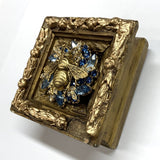 Gilt Frame with Grande Bee on Brooch