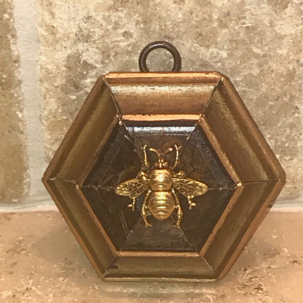 Hexagon Frame with Grande Bee