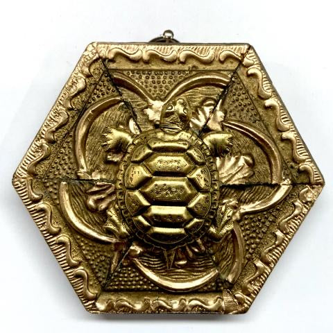 Gilt Frame with Turtle