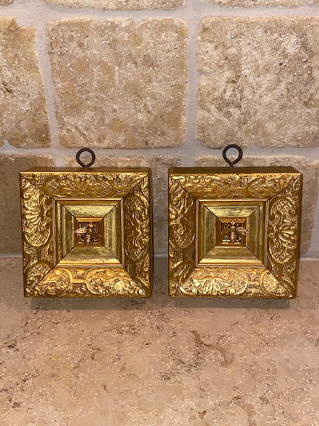Gilt Frame with Napoleonic Bee - pair available