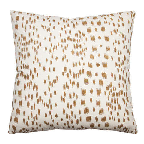 Les Touches Pillow in Tan