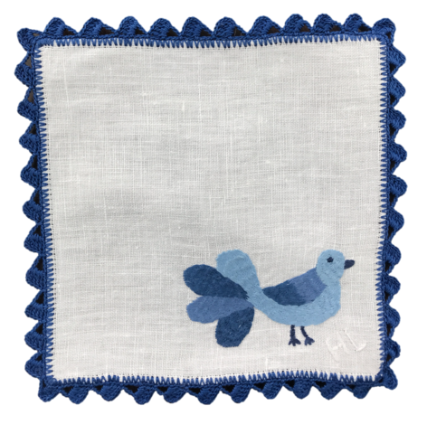 Cocktail Napkins ~ Bluebird (Set of 4)
