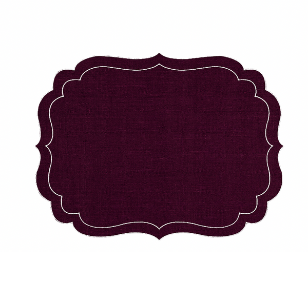 Balthazar Placemats ~ Set of 6 (Multiple colors)