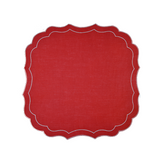 Parentesi Krinkle Placemats ~ Set of 6 (Multiple colors)