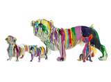 Chihuahua Painted Sculpture (Motif options)
