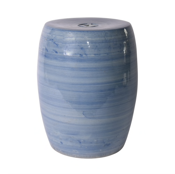 Denim Blue Village Garden Stool