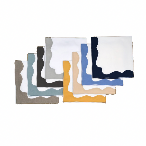 Scallop Border Napkin (Set of 12)