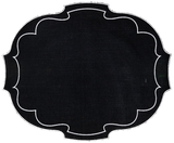 Oval Parentesi Placemats ~ Set of 6 (Multiple colors)