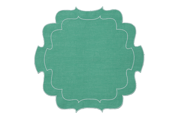 Parentesi Curly Placemats ~ Set of 6 (Multiple colors)
