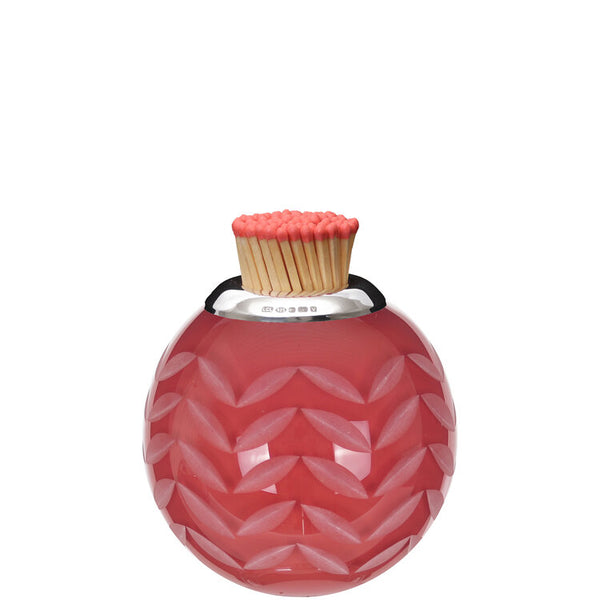 Lucy Cope Matchstriker Small Rosie Red Chevron