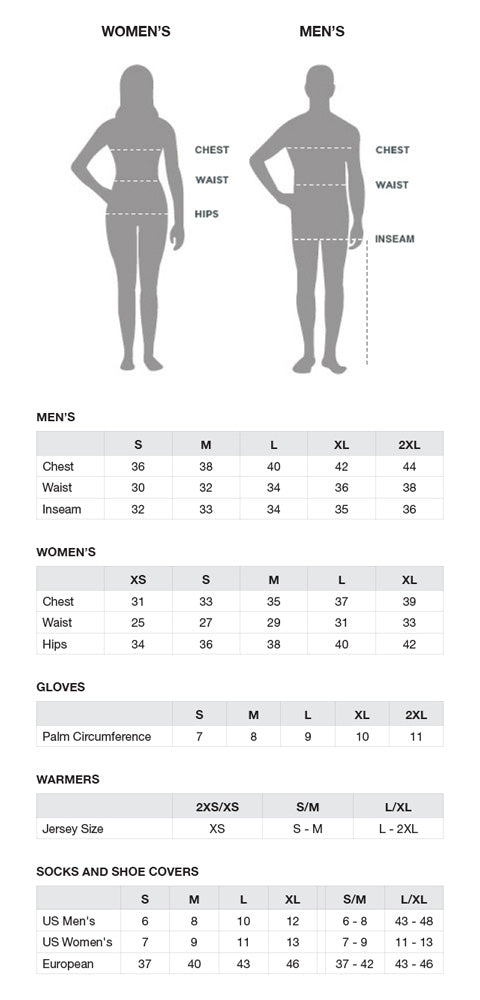 Image result for capo size chart