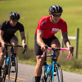 Pursuit Bib Shorts in action