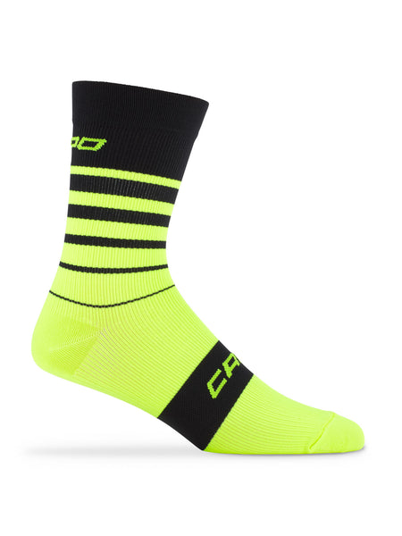 Active Compression Avanti Sock Black-Yellow