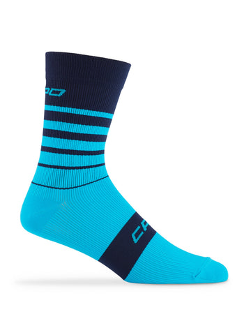 Active Compression Avanti Sock Navy-Cyan