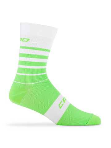 Active Compression Avanti Sock White-Green