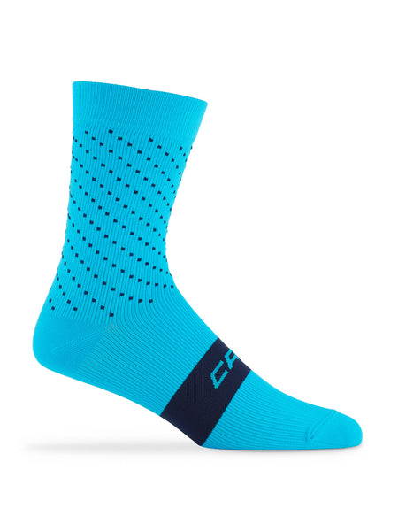 Active Compression Strada Sock Cyan