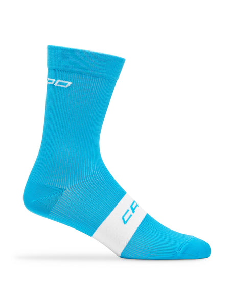 Active Compression 15cm Sock Cyan