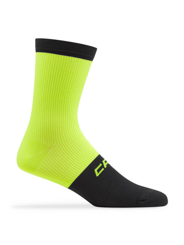 Active Compression 12cm Sock Yellow