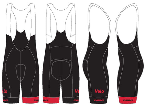 S&P Global Men's Bib Shorts