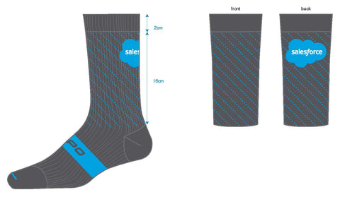 Salesforce Capo AC Sock 2019
